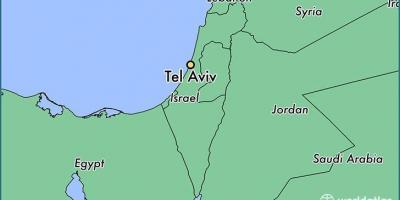 Israel Karte.Tel Aviv Map Karten Von Tel Aviv Israel
