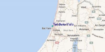 Tel Aviv Jerusalem Karte.Tel Aviv Map Karten Von Tel Aviv Israel